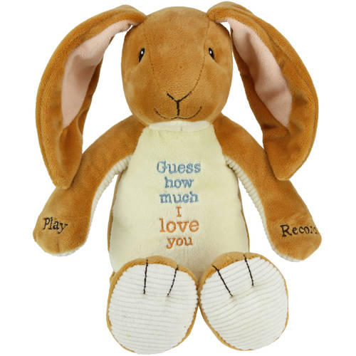 Guess How Much I Love You, Nutbrown Hare Recordable Plush