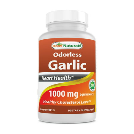 Best Naturals Odorless Garlic 1000 mg 240