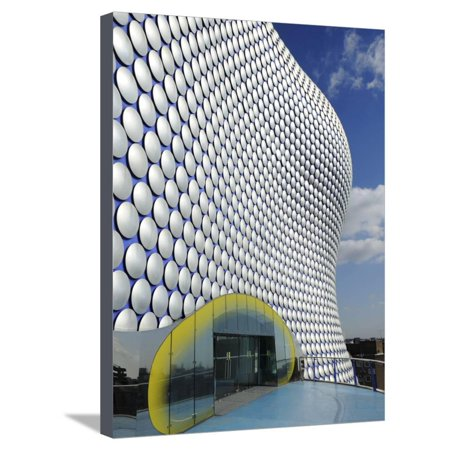 Selfridges Store Exterior, Bullring Shopping Centre, Birmingham, West Midlands, England, United Kin Stretched Canvas Print Wall Art By Chris (Middlesex Shopping Center Stores)