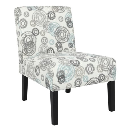 Homegear Home Furniture Accent Armless Chair - Contemporary Designs - Mechanical (Ultimate Design Furniture)