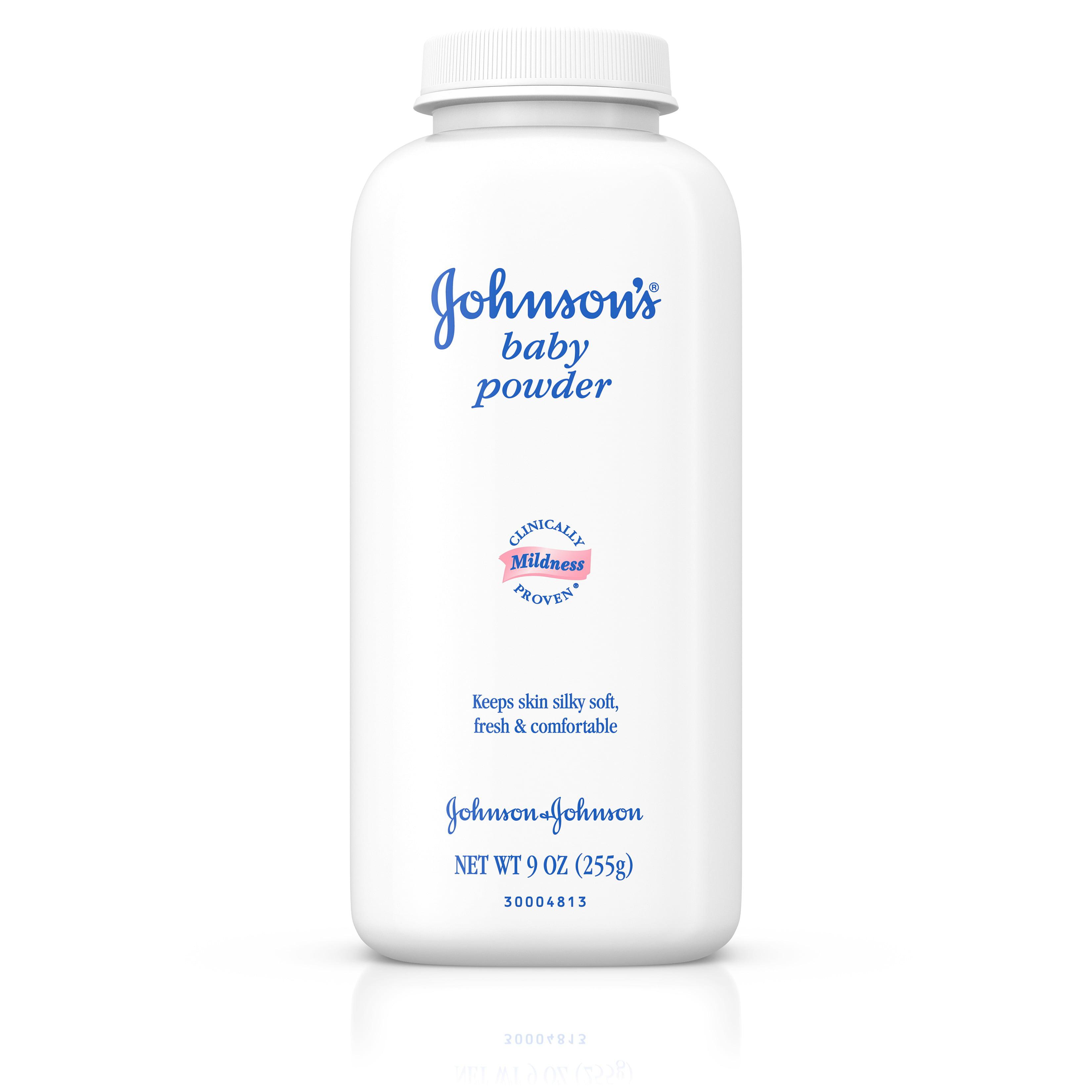 Johnson's Baby Powder To Help Prevent Diaper Rash, 9 Oz.