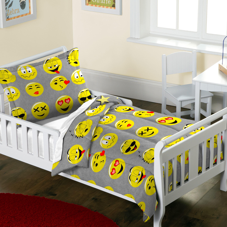 Chf Industries Dream Factory Toddler Emoji Comforter And Sham Set