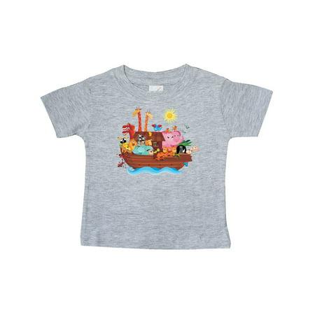 99b158788 Noahs Ark Bible Story Christian Baby T-Shirt - Walmart.com
