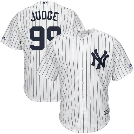 - Aaron Judge New York Yankees Majestic Youth Home Official Cool Base Player Jersey - White