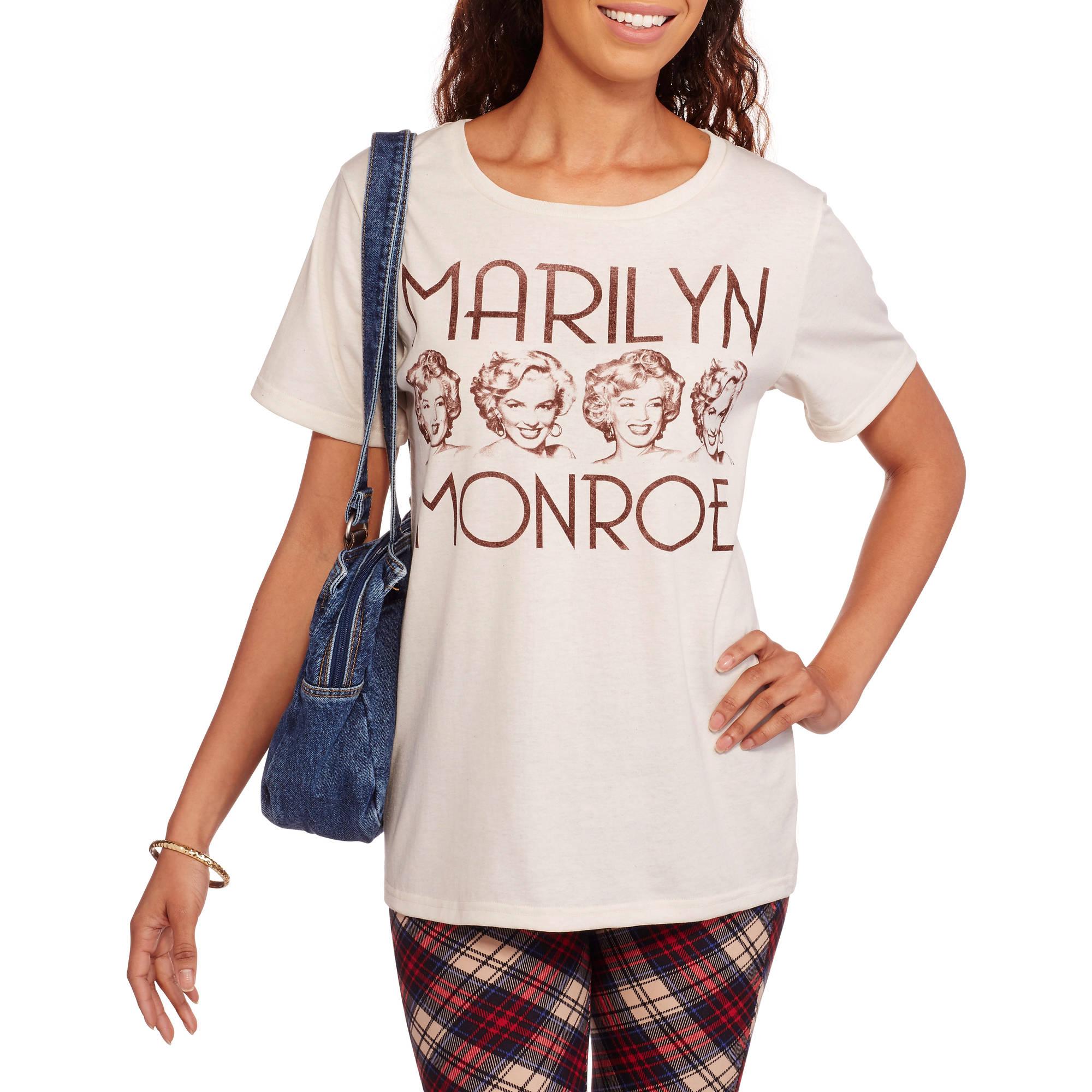Marilyn Monroe Juniors' Graphic T-Shirt