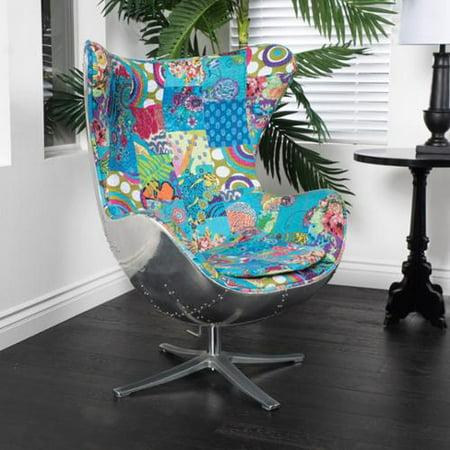Strange Christopher Knight Home Gordon Patchwork Fabric Swivel Chair Machost Co Dining Chair Design Ideas Machostcouk