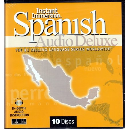 Instant Immersion Spanish Audio Deluxe 10 Cds