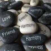 Affirmation Stones ~ Zen Garden Rocks ~ Strength Harmony Faith Friend Happiness