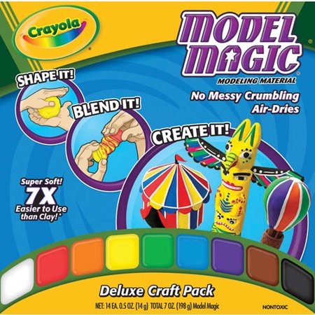 Crayola Model Magic Deluxe Color Variety Pack