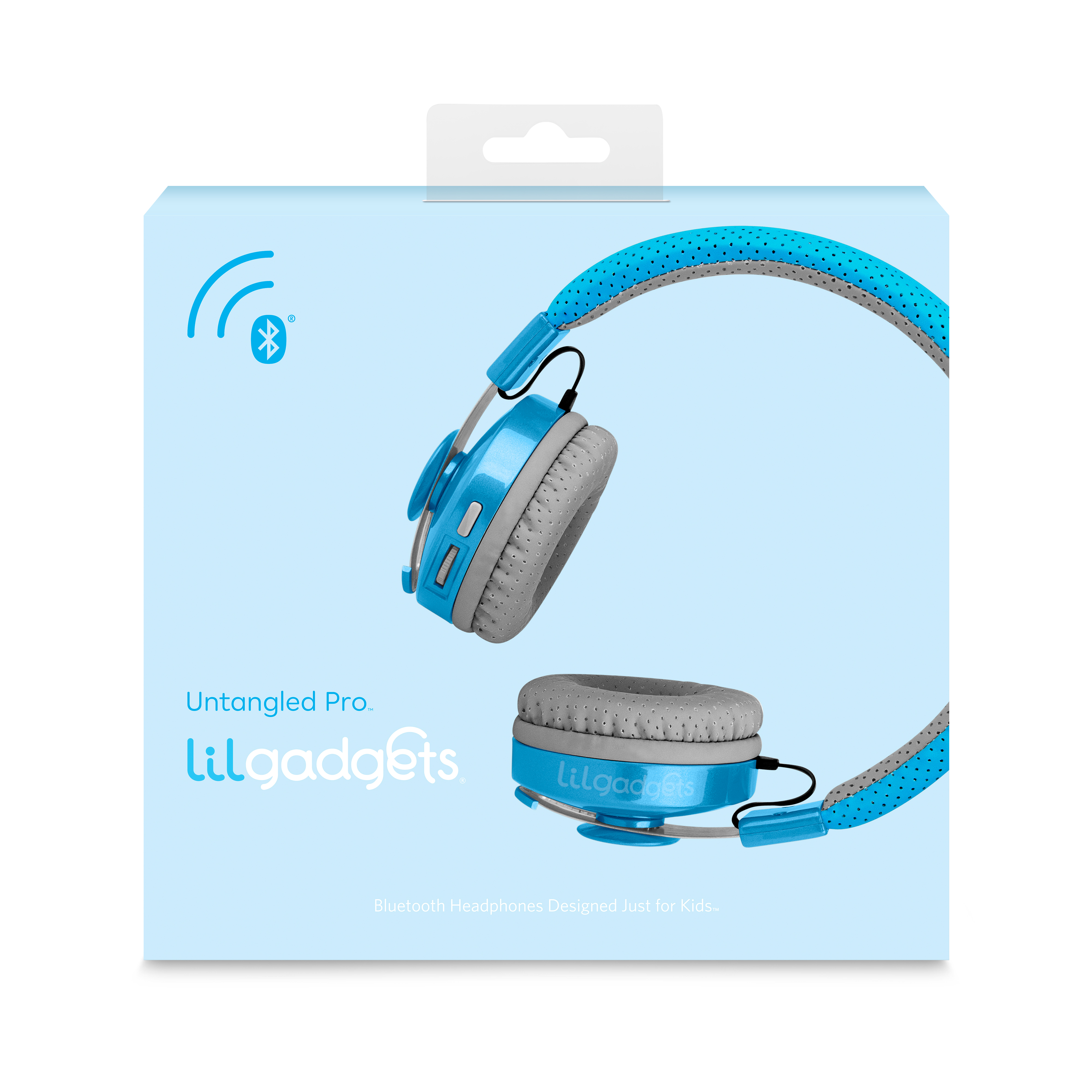 LilGadgets Untangled Pro Premium Children's Bluetooth Wireless Headphones with SharePort, Assorted Colors