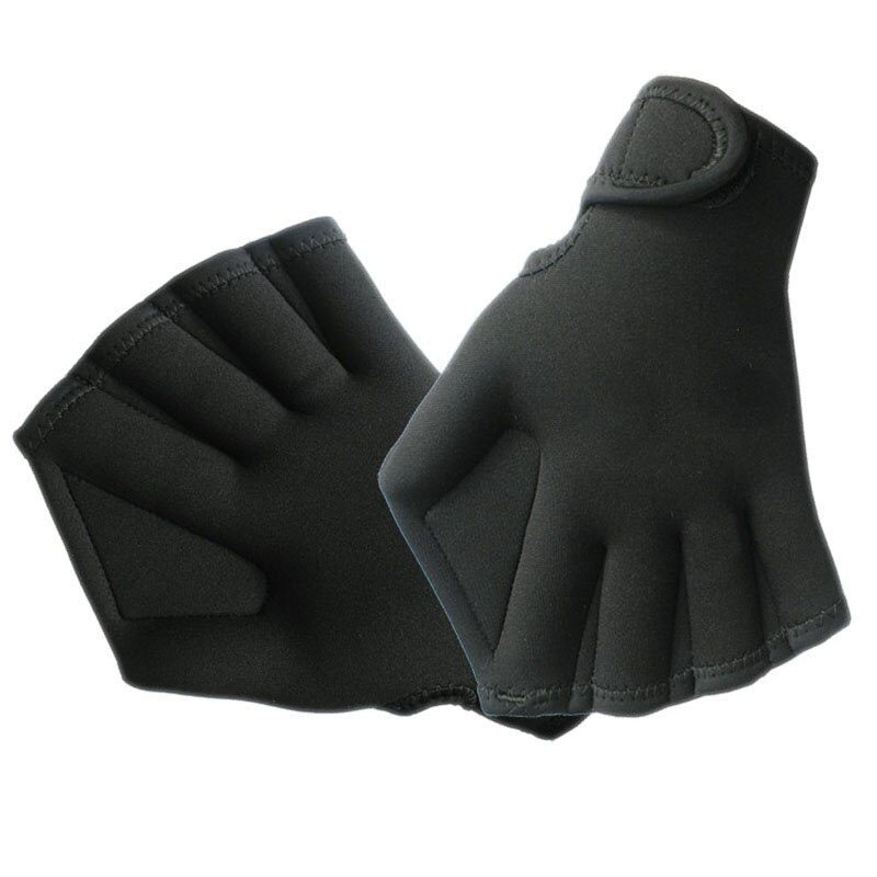 Demeras Swimming Hand Paddle Swimming Gloves Webbed Surfing Swimming Paddles Aquatic Gloves Swim Flippers for Snorkeling for Kids Women Men for Swimming Training