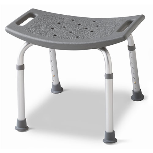 Medline Bath Bench, Gray