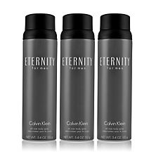 Eternity (5.4 oz. - 3 pack) Body Spray for Men 3 Pack by Calvin Klein
