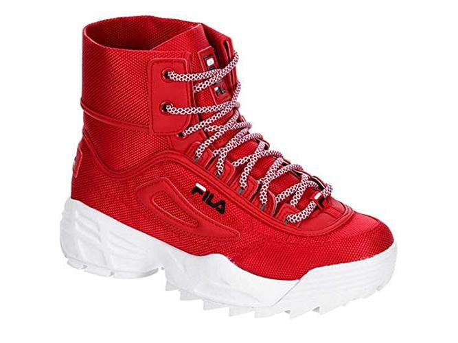 Fila Disruptor Ballistic Boot (7.5, Red