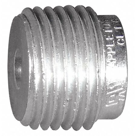"Appleton Electric Reducing Bushing, 13/16""L, 1 to 1/2"" Conduit, RB100-50"