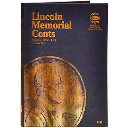 Lincoln Memorial Cents 1999-2008 Coin Folder (Lincoln Memorial Cents Album)
