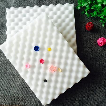 Meigar 2Pcs Sugar Flower Chocolate Gum Paste Drying Foam Mat, Shaping Mold Fondant Cake Airing Sponge Pad Decorating Bakeware Tool - image 1 of 5