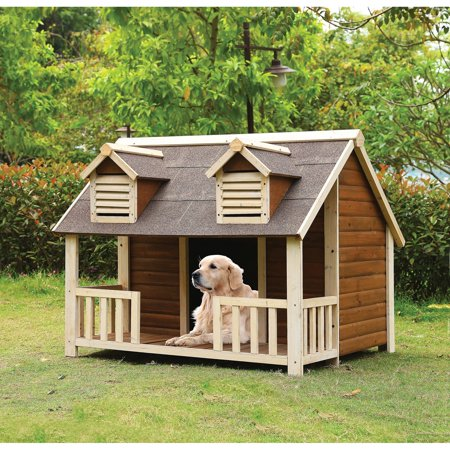 Acme furniture rufus pet dog house walmartcom for Zero dog house