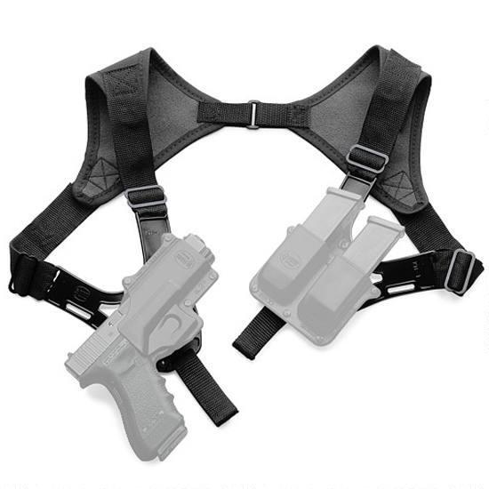 Fobus Roto Shoulder Harness Holster Pouch All Fobus, Black by Fobus