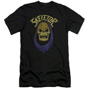 Masters Of The Universe Animated TV Series Hooded Skeletor Adult Slim T-Shirt