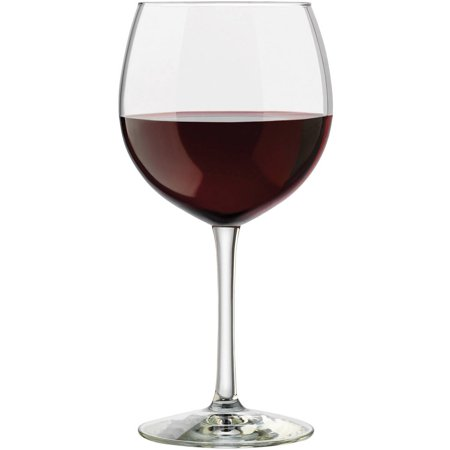 Libbey Vineyard Reserve Merlot Glass Clear, Set of 8
