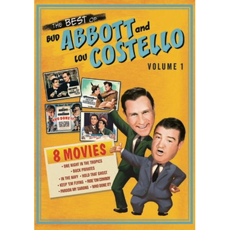 The Best Of Abbott & Costello: Vol. 1 (DVD)