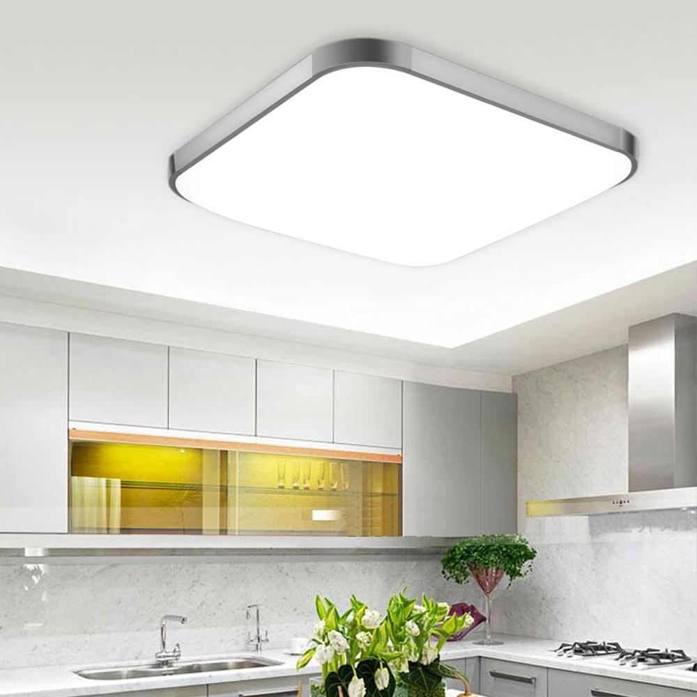 56W Kitchen   Bedroom  Dining Room LED Ceiling Lights Modern Square 6500k(White light) by