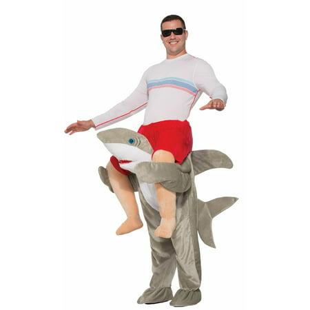 Mens Ride on Shark Costume