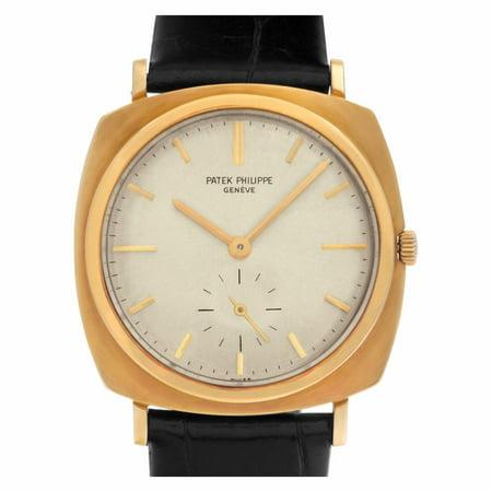 Pre-Owned Patek Philippe Calatrava 3525 Gold Watch (Certified Authentic & Warranty)