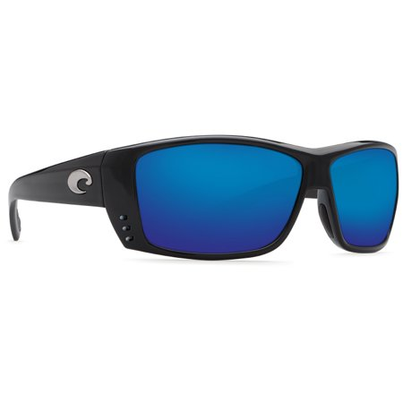 Costa Del Mar Cat Cay AT Shiny Black (Costadelmar Sunglasses)