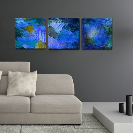 Ready2hangart Abstract 3 Piece Canvas Wall Art Set Walmartcom