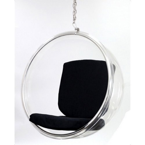 Bubble Hanging Chair - Black