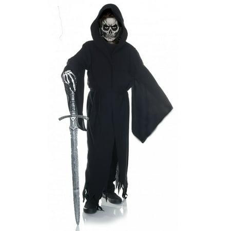 Grim Reaper Tattered Robe Child Costume - Grim Reeper