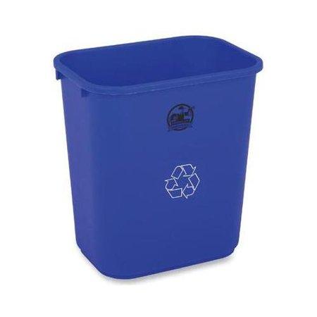 Genuine Joe Recycle Wastebasket GJO57257