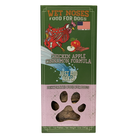 Wet Noses Dehydrated Dog Food, Chicken Apple Cinnamon