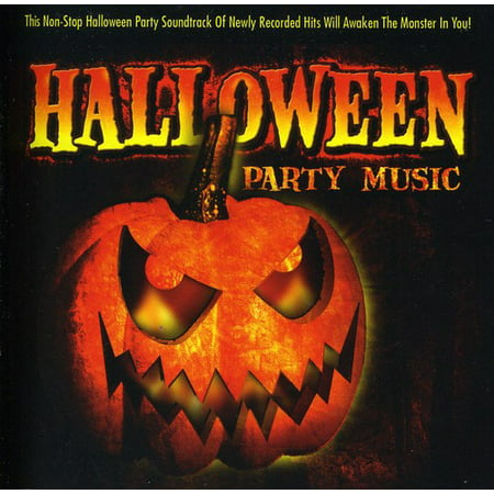 Halloween Party Music (CD) - Kids Friendly Halloween Music