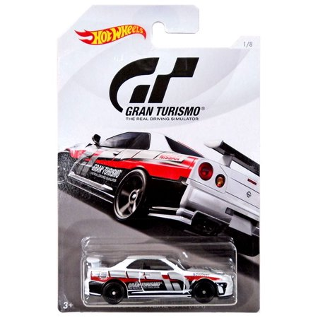 Hot Wheels Gran Turismo Nissan Skyline GT-R (R34) Die-Cast