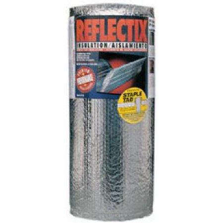REFLECTIX INC Reflective Insulation, Double Bubble Foil, Staple Tab, 16-In. x 25-Ft. ST16025
