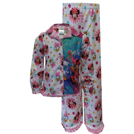 Disney's Minnie Mouse and Daisy Duck Button Front Toddler Pajamas