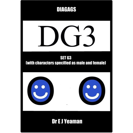 Diagags Set G3 (with Characters Specified as Male and Female) - eBook - Female Horror Characters