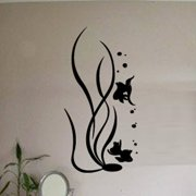 Fox Hill Trading Underwater Life Vinyl Wall Decal