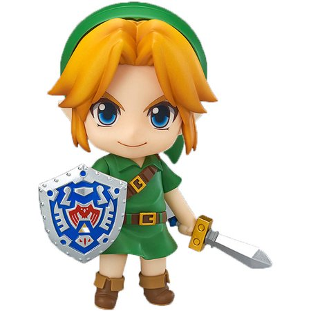 The Legend of Zelda: Majora's Mask 3D, Link Nendoroid Action Figure - Legend Of Link