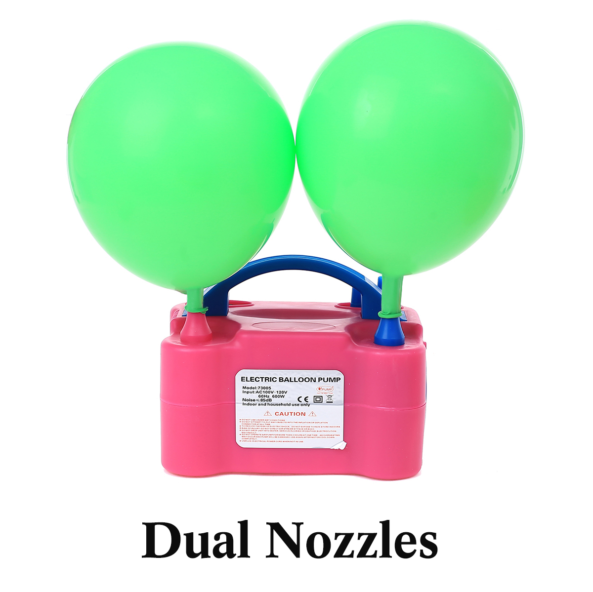 Balloons plugs 50 Pieces with Blower Double sent