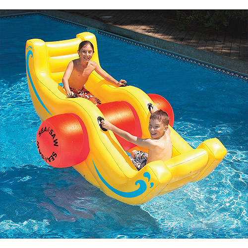 Seesaw Rocker Inflatable Pool Toy by INTERNATIONAL LEISURE PRODUCTS