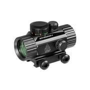"UTG 3.8"" Red/Green Dot Sight w/Integral Mount"