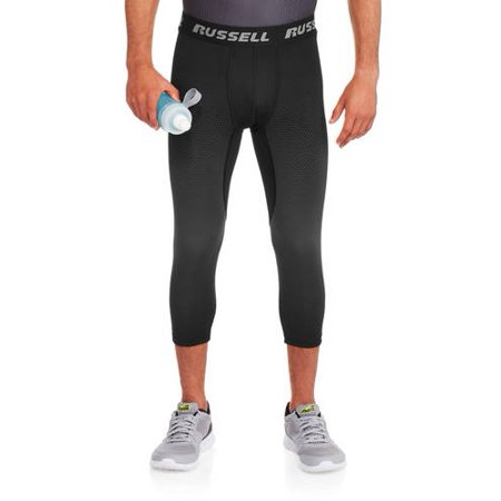 8367776eb3be9 Russell - Men's Compression Pants - Walmart.com