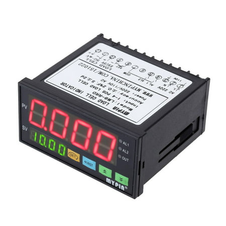Digital Weighing Controller Load-cells Indicator 1-4 Load Cell Signals Input 2 Relay Output 4 Digits LED Display