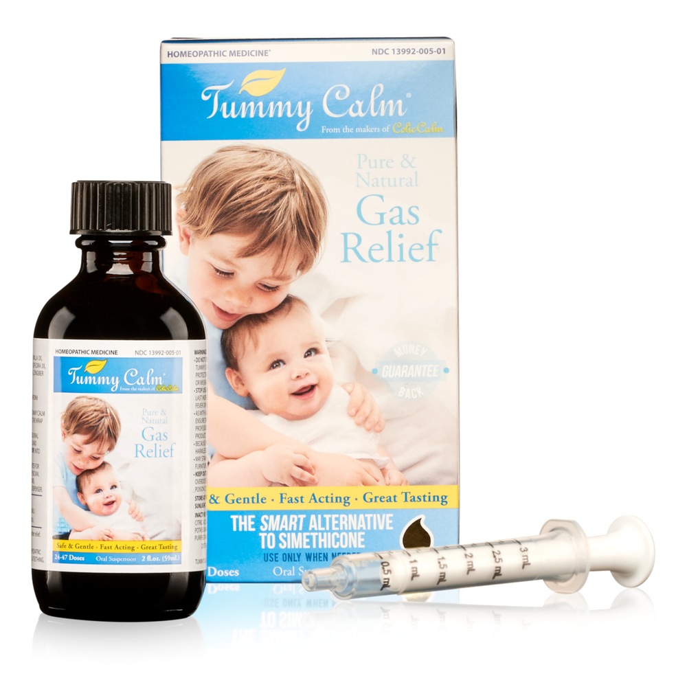 Tummy Calm Homeopathic Gas Relief Drops