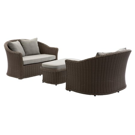 Belham Living Burchell All Weather Wicker Outdoor Cuddle