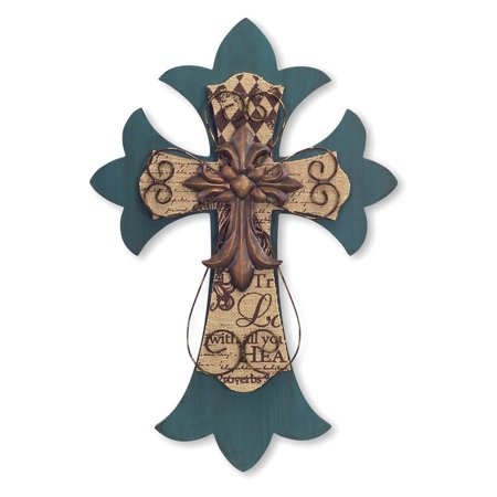 Melrose International Decorative Cross Wall Decor - Walmart.com